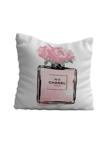 Lyn Home & Decor Chanel Şişe Yastık Kılıfı 42X42 Renkli